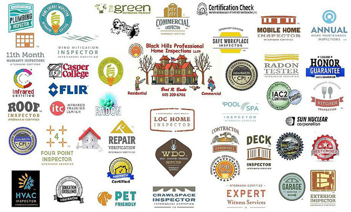 Professional Certifications | Black Hills Home & Commercial Inspections